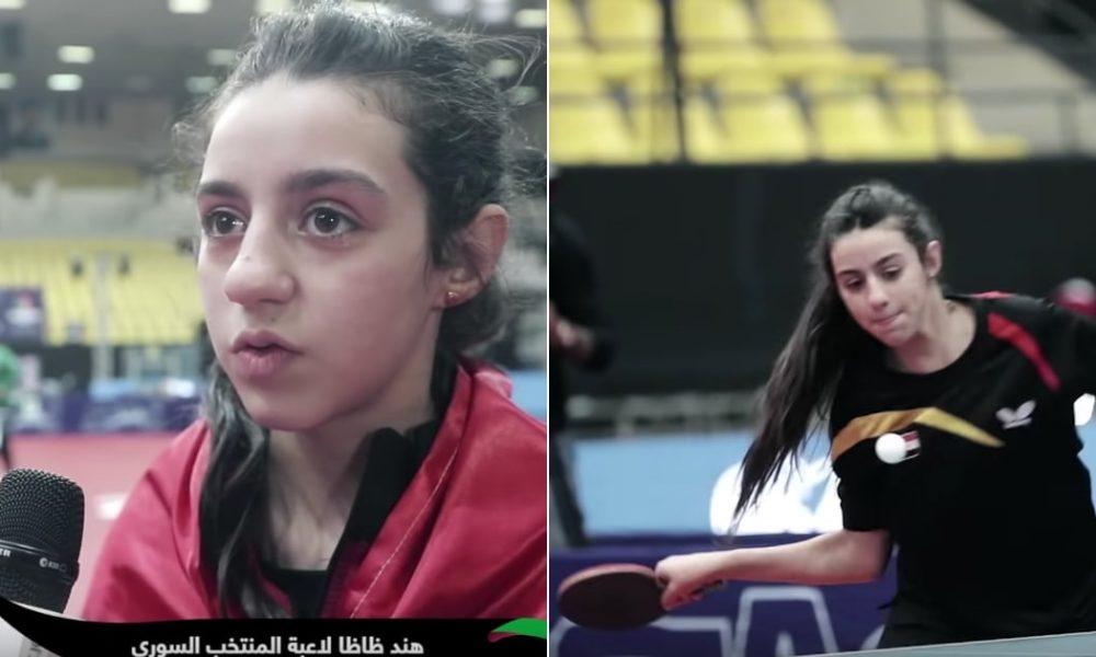 12χρονο κoρίτσι απ' την αιματοβαμμένη Συρία η νεότερη αθλήτρια στην Ολυμπιάδα του Τόκιο